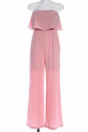 passion fusion Langer Jumpsuit pink casual look