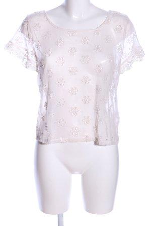 Passionata Netzshirt wollweiß Elegant
