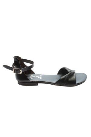Passo per Passo Riemchen-Sandaletten schwarz Casual-Look