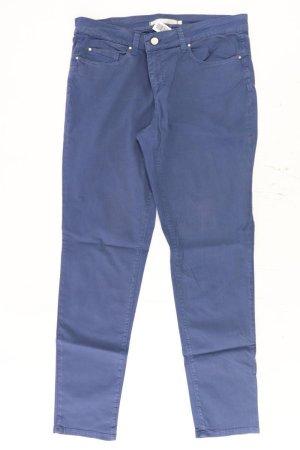 Passport Five-Pocket Trousers blue-neon blue-dark blue-azure cotton