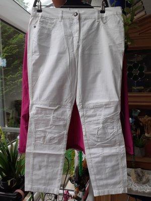 Passport Five-Pocket Trousers white