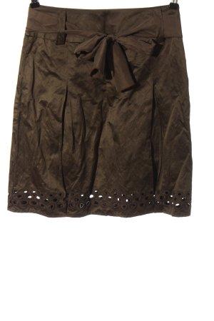 Passport Mini-jupe brun style décontracté