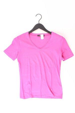 Passport T-shirt col en V rose clair-rose-rose-rose fluo