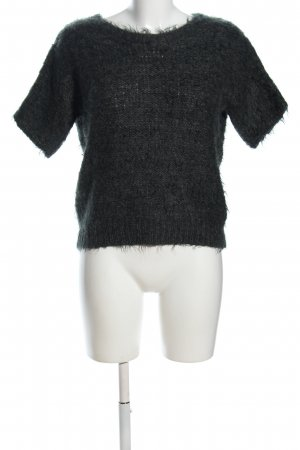 Passport Strickshirt schwarz Casual-Look