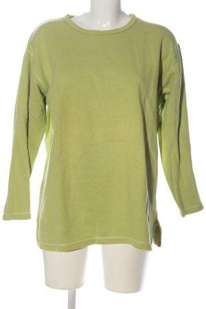 Passport Sweat Shirt green casual look