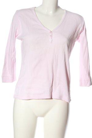 Passport V-Ausschnitt-Shirt pink Casual-Look