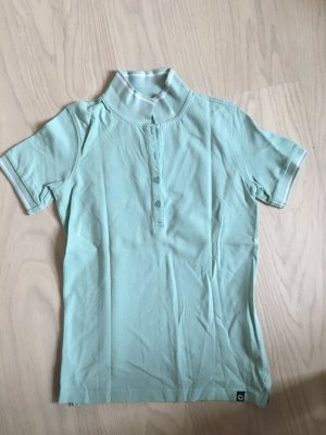Pastell blaues Polo Shirt