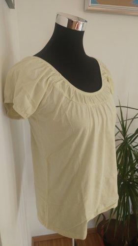 Pastell gelbes T-Shirt