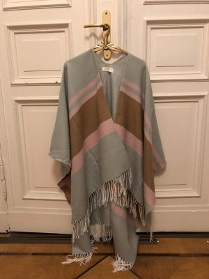 Hüftgold Knitted Poncho multicolored mixture fibre