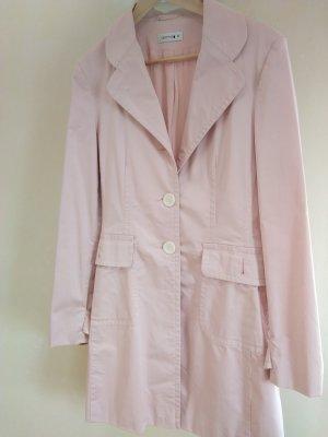 Comma Cappotto corto rosa pallido Cotone