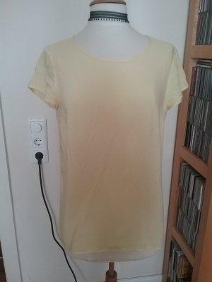 Pastellgelbe Kurzarmbluse/ Shirt von Only in Gr.M