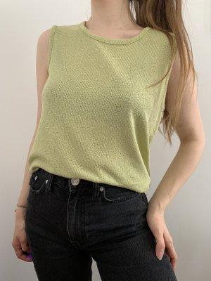 Pastellgrünes Vintage Shirt