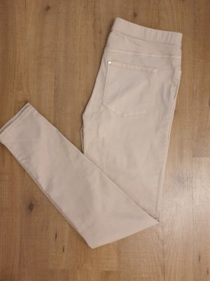 H&M Pantalone elasticizzato rosa antico-rosa pallido