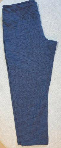 Patagonia Pantalon de sport bleu foncé-bleu fluo polyester