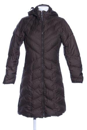 Patagonia Down Coat brown quilting pattern casual look