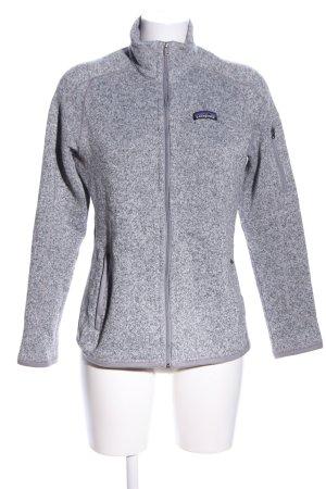 Patagonia Fleece Jackets light grey flecked casual look