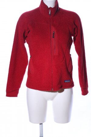 Patagonia Fleece Jackets red casual look
