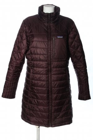 Patagonia Quilted Jacket brown quilting pattern casual look
