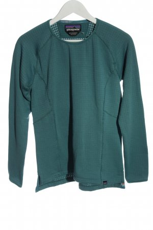 Patagonia Sweat Shirt turquoise casual look