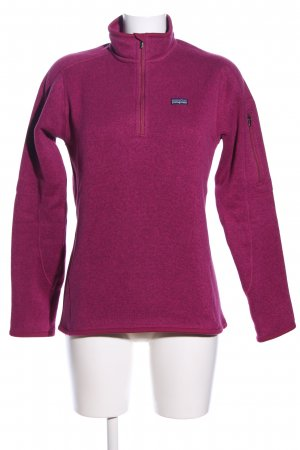 Patagonia Sailor Sweater pink flecked casual look