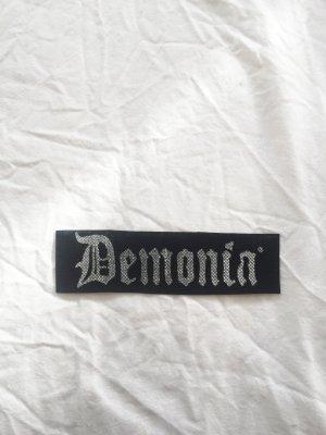 Patch / Aufnäher mit Demonia Schriftzug
