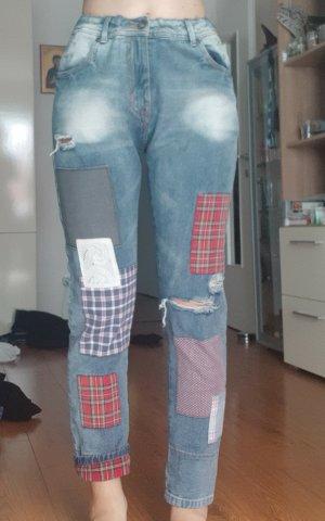 Alcott Jeans boyfriend multicolore