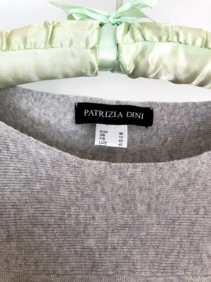 Patricia Dini Cashmere Jumper silver-colored cotton