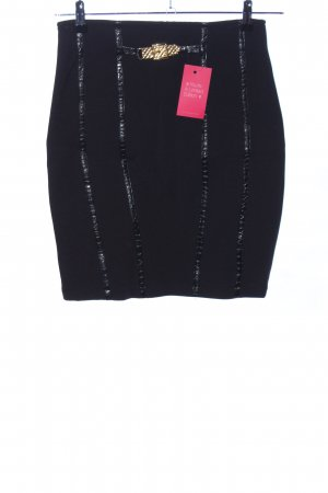 Patricia Forgeal Stretchrock schwarz Casual-Look