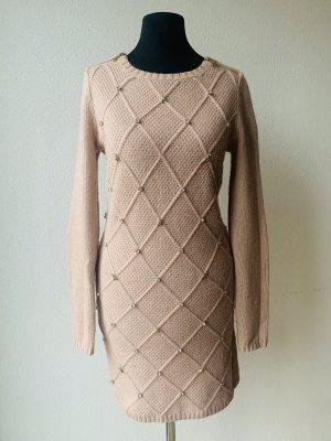 Patricia Pepe Vestito di lana rosa antico