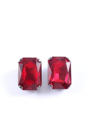 Patricia Pepe Oorclips rood elegant