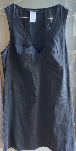 Patricia Pepe Vestido tipo blusón gris antracita