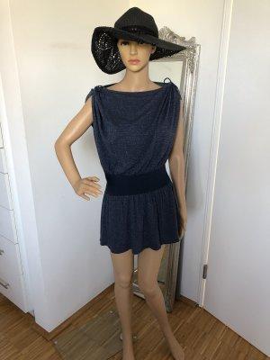 Patricia Pepe Vestido estilo camisa azul