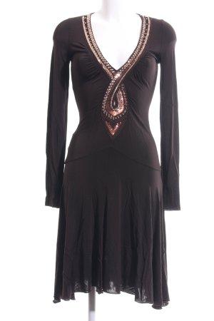 Patricia Pepe Stretch jurk bruin elegant