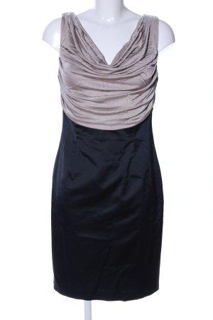 Patrizia Dini Cocktailkleid schwarz-wollweiß Elegant