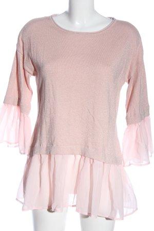 Patrizia Dini Langarm-Bluse pink Casual-Look