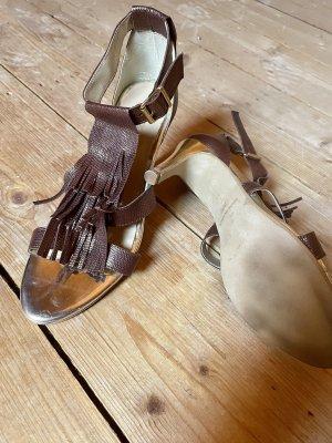 Patrizia Dini  Sandaletten braun 38