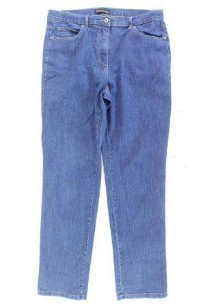Patrizia Dini Straight Jeans Größe 44 blau aus Baumwolle