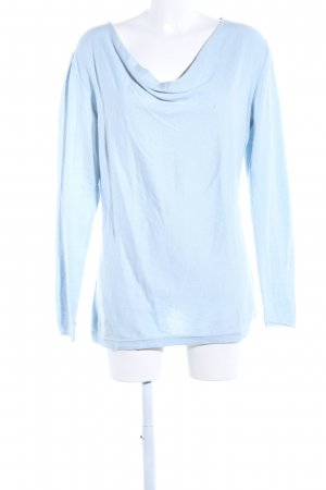 Patrizia Dini Strickpullover blau Casual-Look
