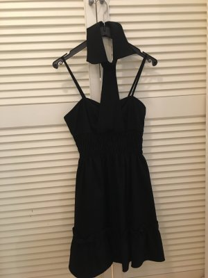 Patrizia Pepe Halter Dress black