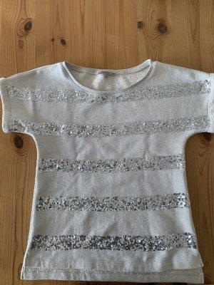 Patrizia Pepe Boatneck Shirt light grey-silver-colored