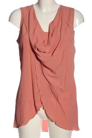 Patrizia Pepe ärmellose Bluse pink Casual-Look