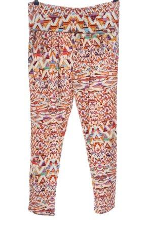 Patrizia Pepe Baggy Pants allover print casual look