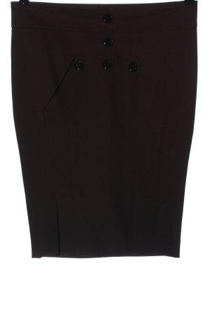 Patrizia Pepe Ołówkowa spódnica brązowy Wzór w paski W stylu casual