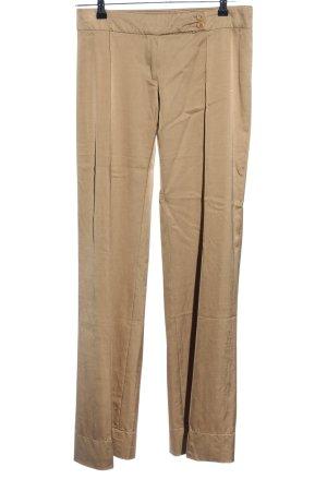 Patrizia Pepe Pantalon à pinces brun style décontracté