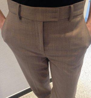Patrizia Pepe Spodnie z zakładkami beżowy