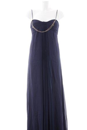 Patrizia Pepe Chiffonkleid blau Elegant