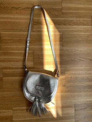 Patrizia Pepe Handbag light grey-silver-colored