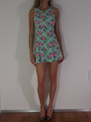 Patrizia Pepe Babydoll-jurk veelkleurig Katoen