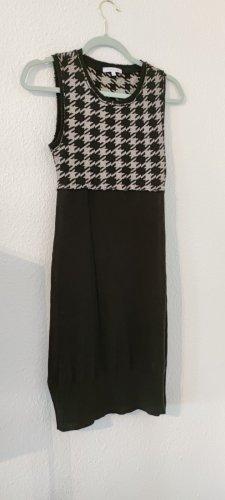 Patrizia Pepe Robe en maille tricotées argenté-doré