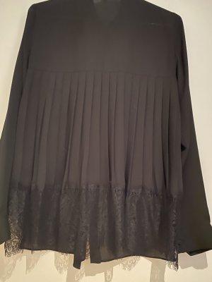 Patrizia Pepe elegantes schwarzes Hemd, Größe 36/deutsch